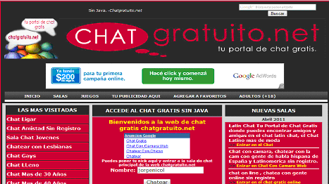 chat gratuito
