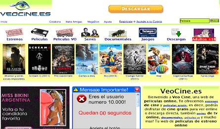 veocine.es gratis movies pelis
