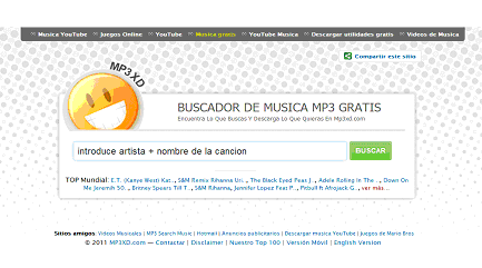 mp3 xd para bajar musica