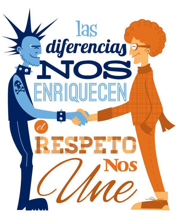 El respeto es un valor clave para que una sociedad permanezca unida.