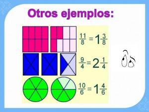 (Fracciones Impropias)