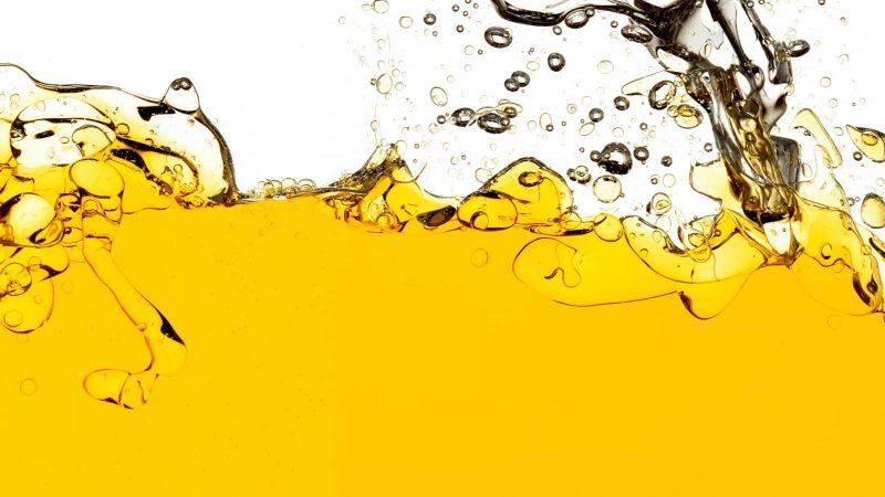 aceite y agua - mezcla heterogenea