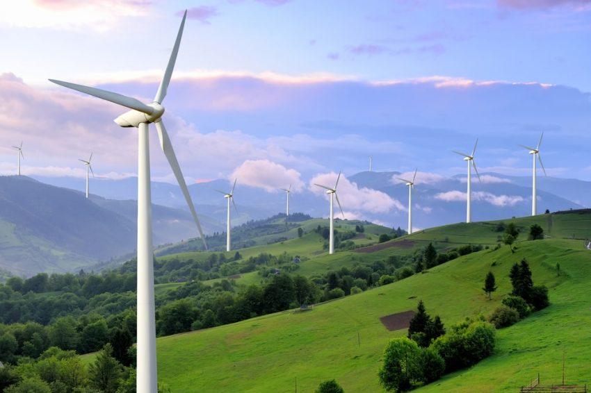 energia mecanica y cinetica - molinos de viento