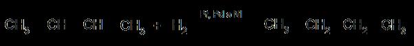 Hidrogenación de alquenos