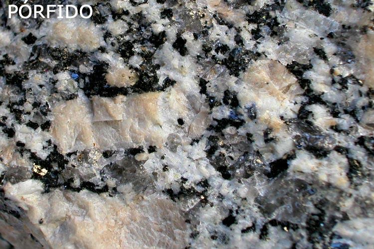 Pórfidos roca