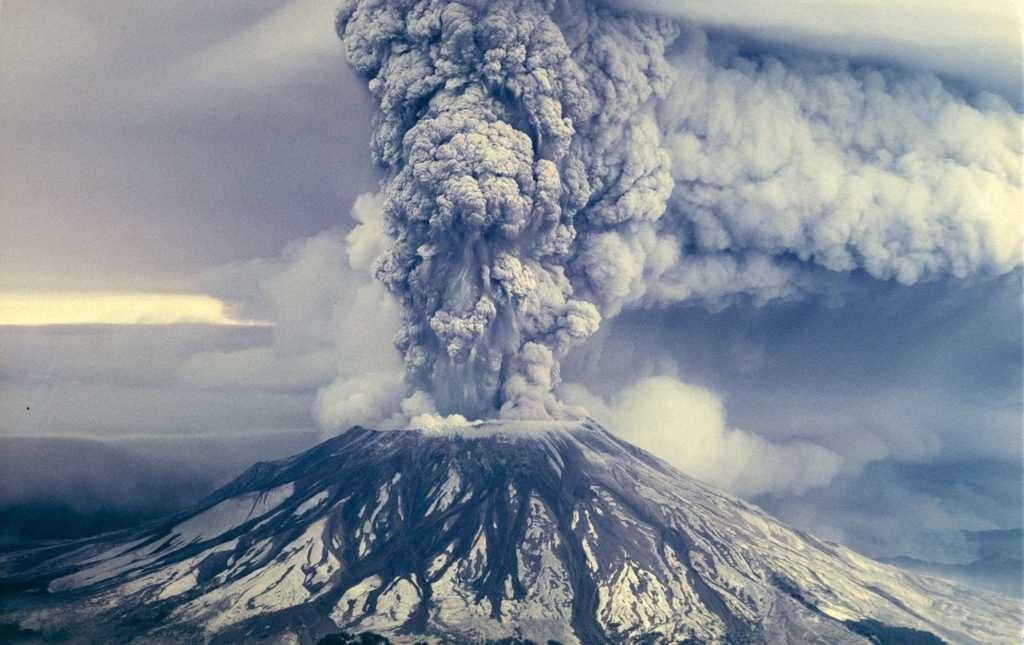 Volcán santa helena