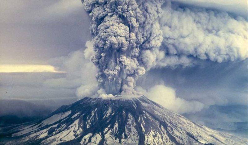 Volcán erupcion - entropia