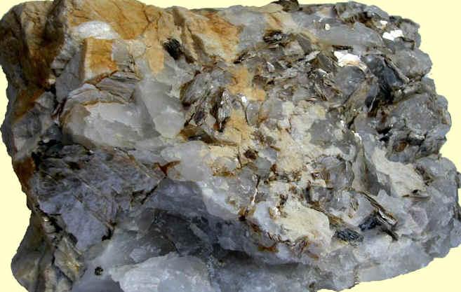 pegmatita roca