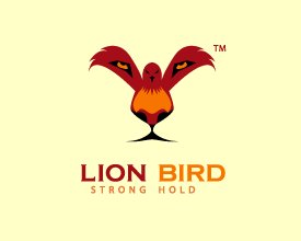 Logo Lion Bird