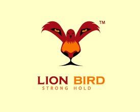 Logo Lion Bird