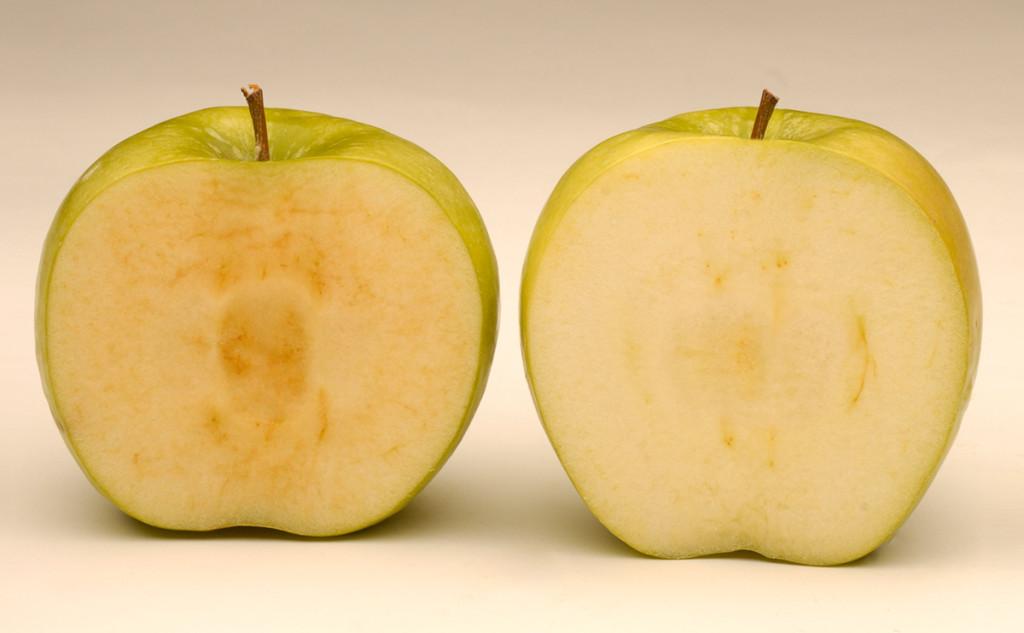 oxidación de la manzana