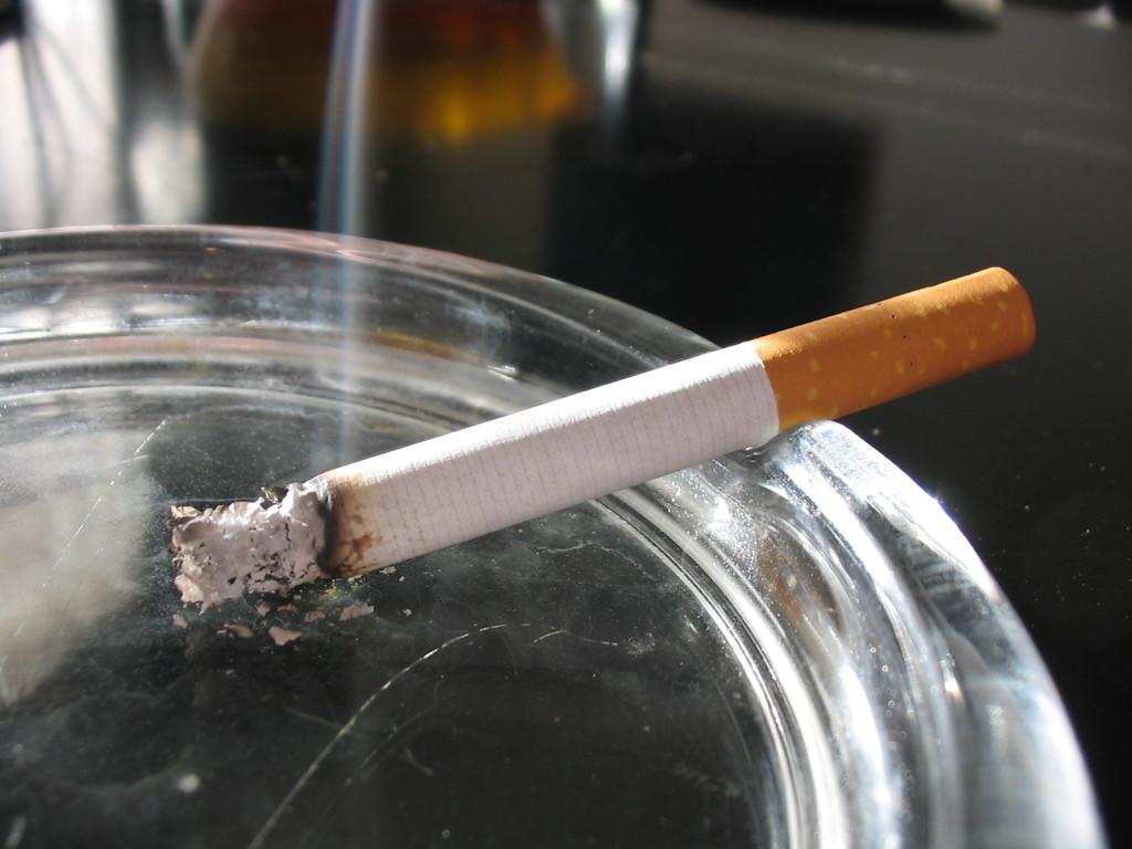 oxidacion de cigarrillo