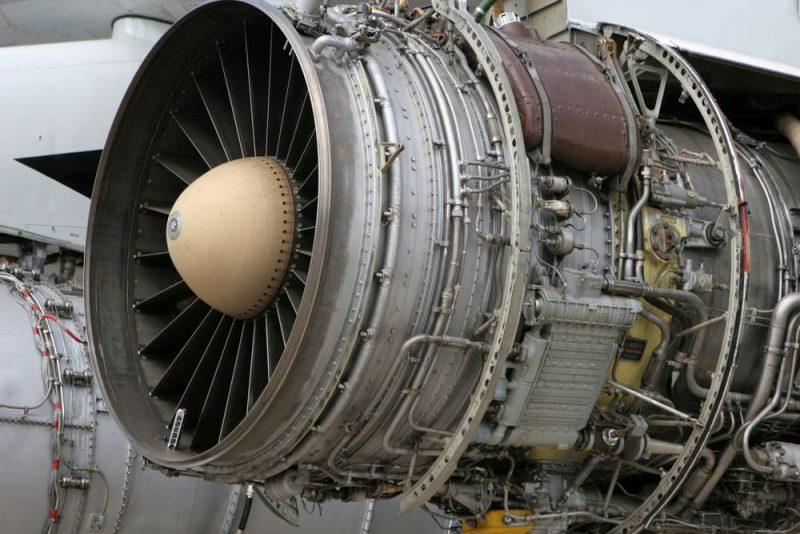 industria pesada turbina de avion