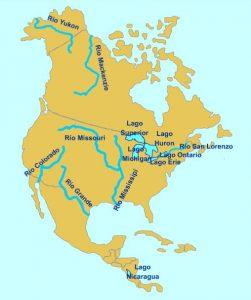 Ríos de América del Norte