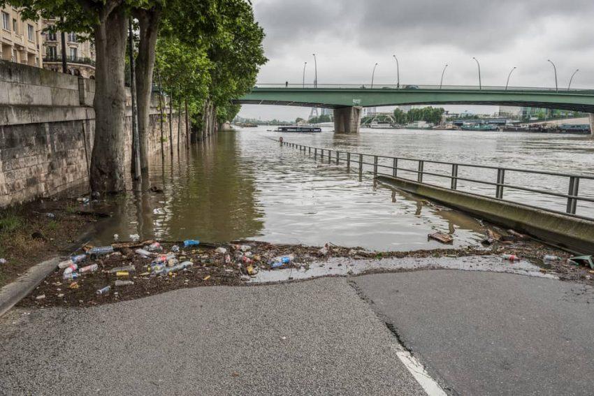 Inundación por lluvias.