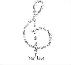 musica caligrama