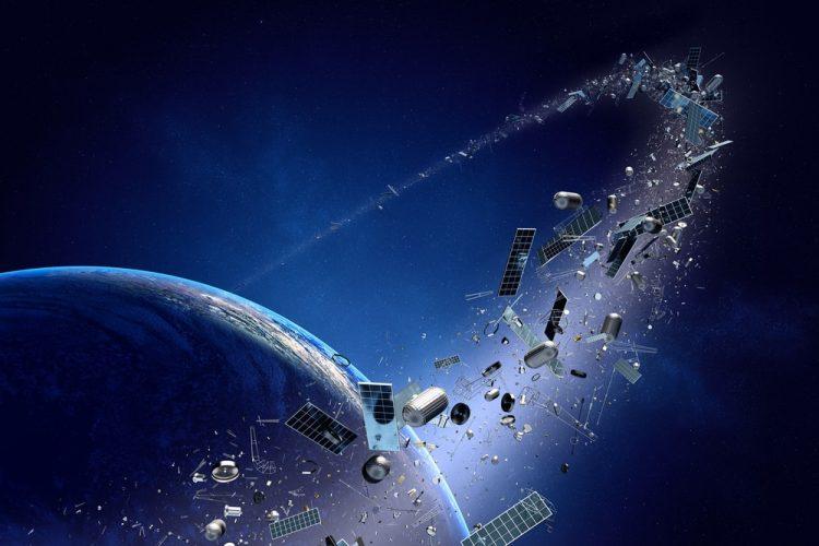 Basura en el espacio.