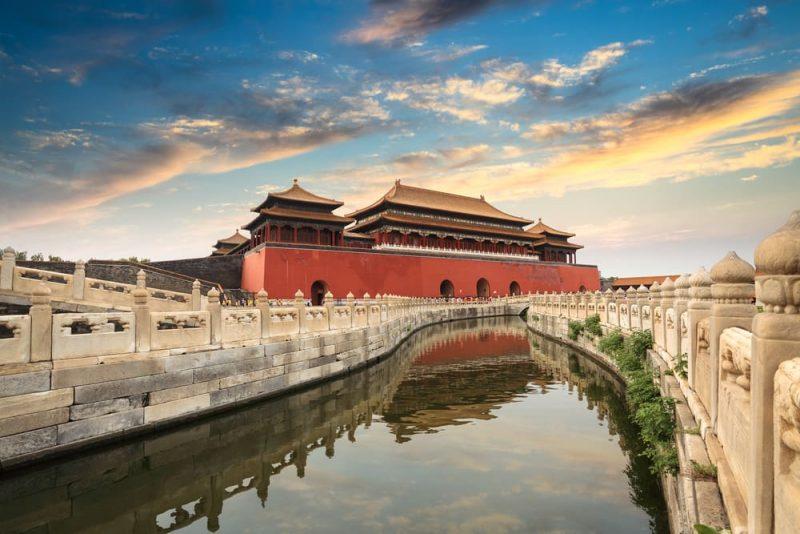 ciudad prohibida en china - paisaje artificial