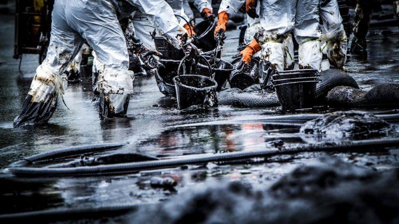 derrame petroleo hidrocarburos
