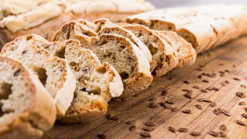 glúcidos en el pan