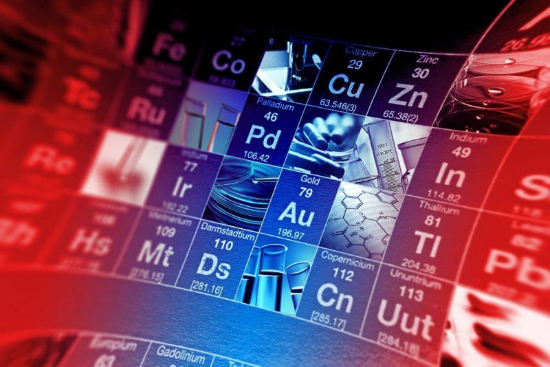 elementos quimicos en la tabla