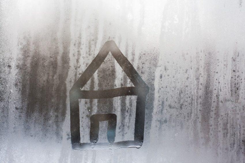 Condensación en la ventana.