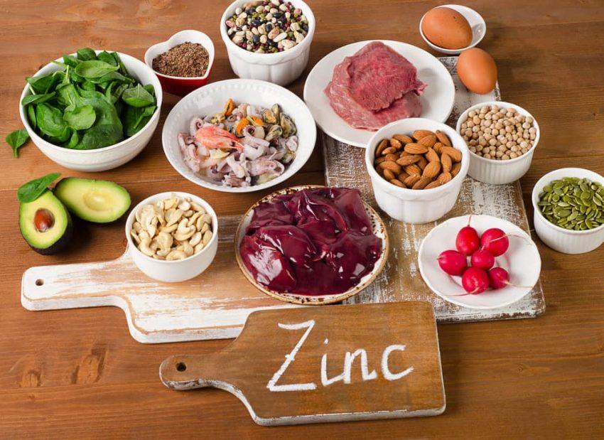 Zinc. Minerales.