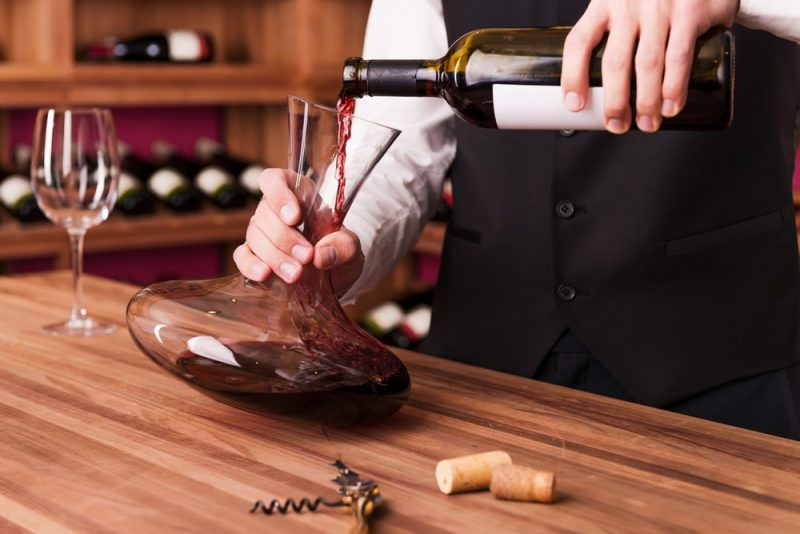 decantacion vino