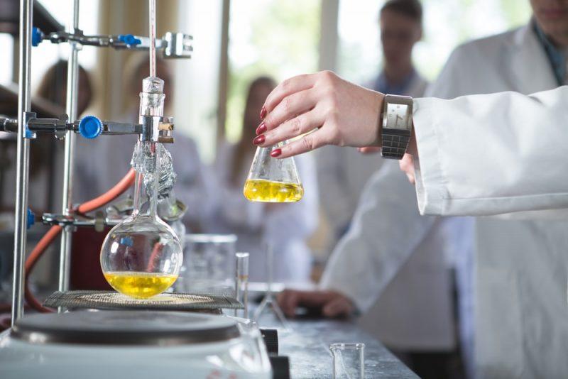 destilacion en laboratorio