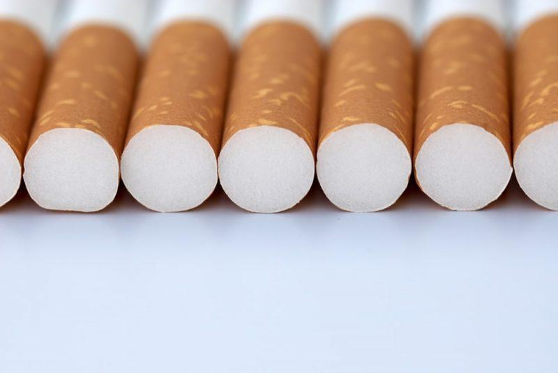 filtro de cigarrillos