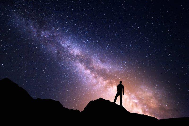 galaxia via lactea foto