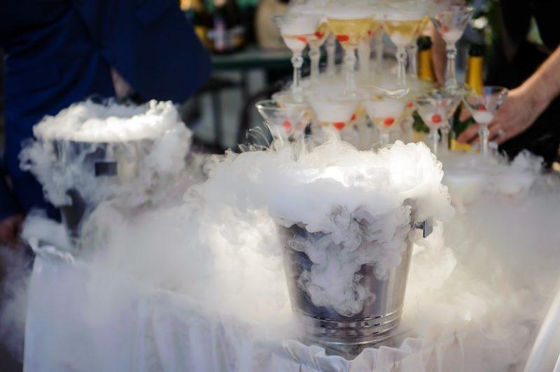 hielo seco - sublimación