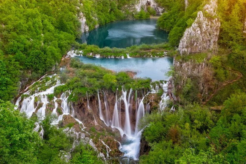 Parque Nacional los Lagos de Plitvice