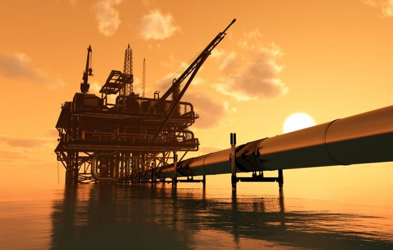 producción de petróleo - combustible natural