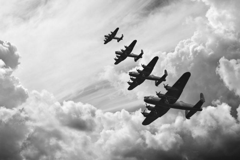 Segunda guerra mundial - desastre antrópico