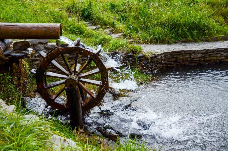 molinos de agua - energia hidraulica