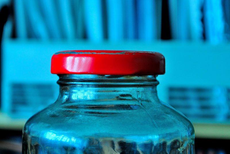 frasco - contraccion termica