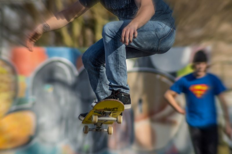 skate - energia cinetica