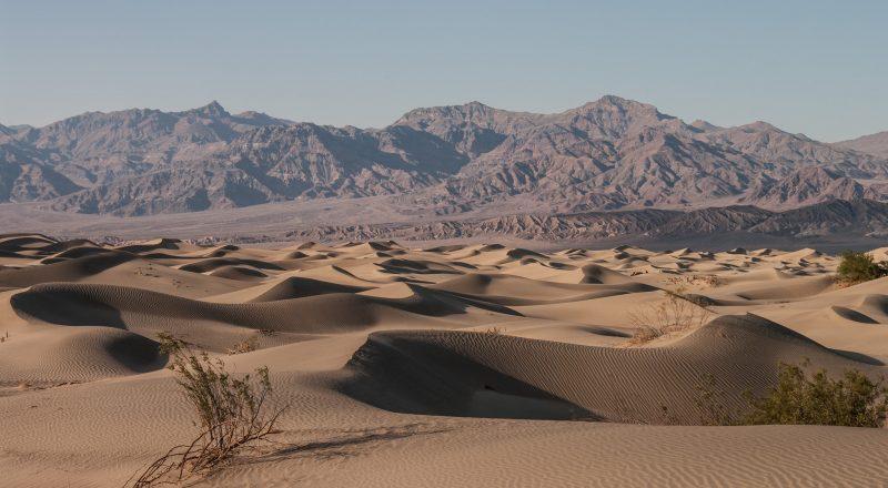Valle de la Muerte - Depresiones Geográficas