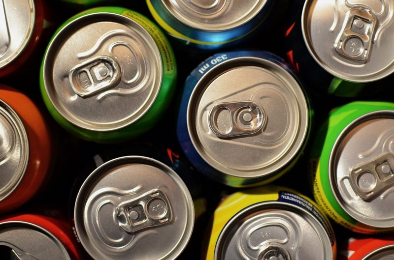 latas de aluminio - usos