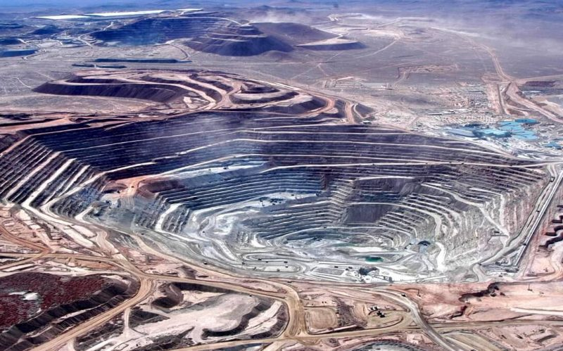 mina de cobre - escondida chile