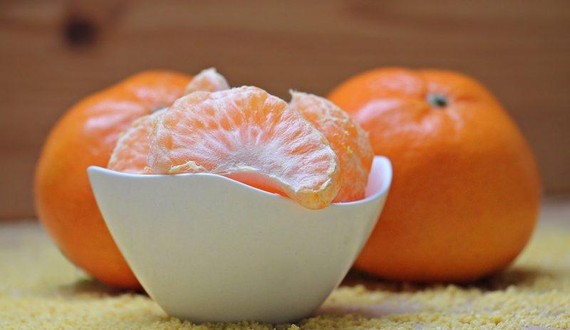 mandarinas - vitaminas