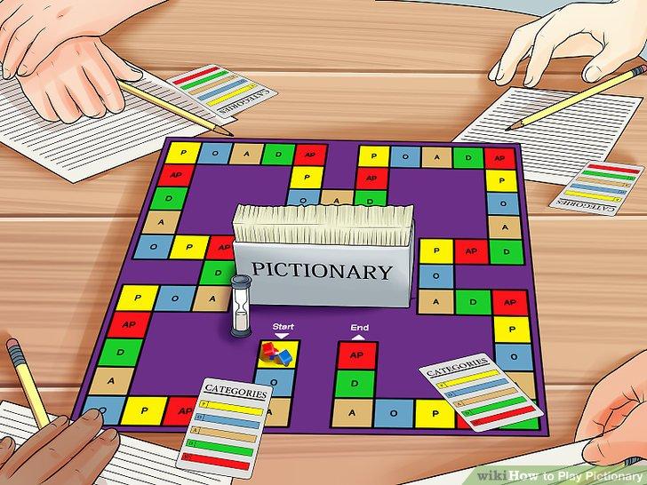 pictionary - juego de mesa