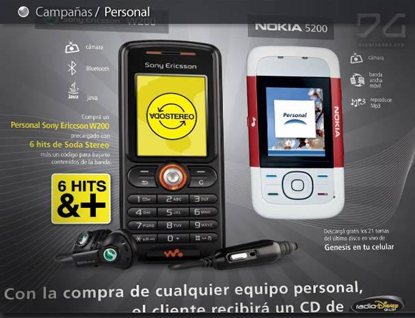 celular personal publicidad