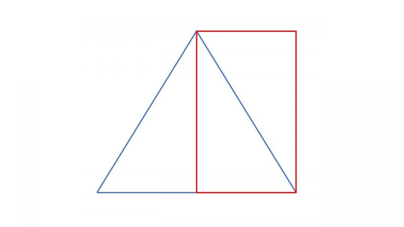 rectángulo - triangulo